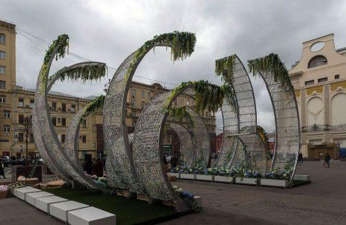 Необычайные городские арт-инсталляции