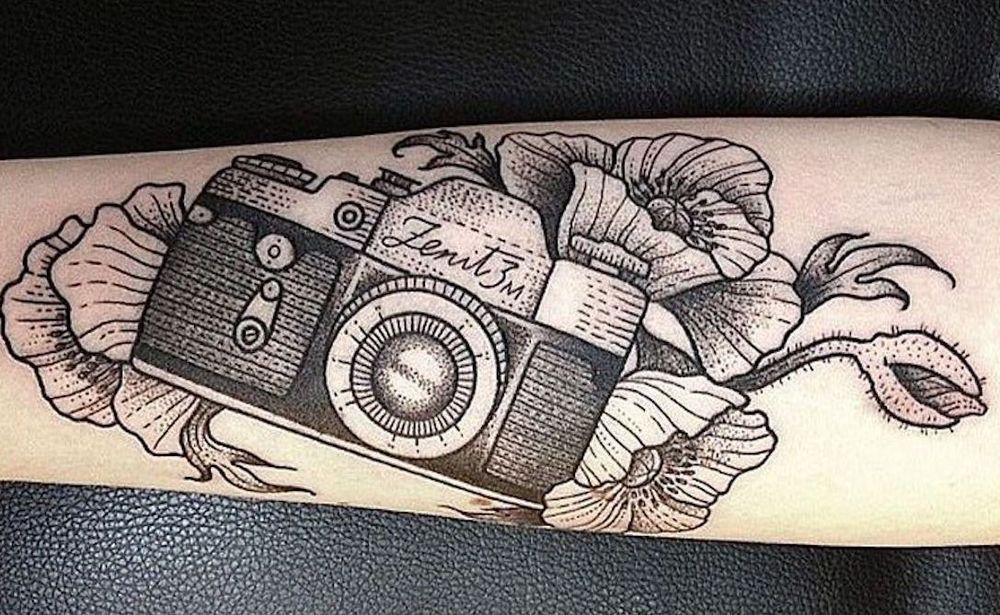 Татуировка film-roll