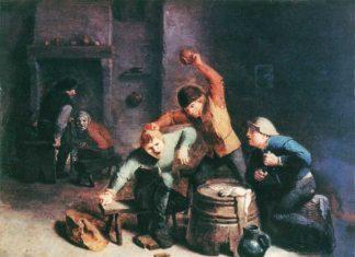 ссоры и драки в кабаках