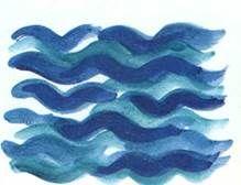 Приемы изображения воды