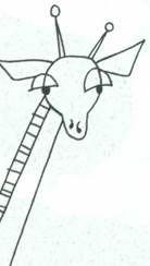 Рисуем жирафа акварелью