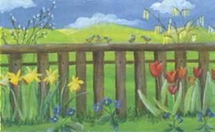 Мы рисуем весенний сад
