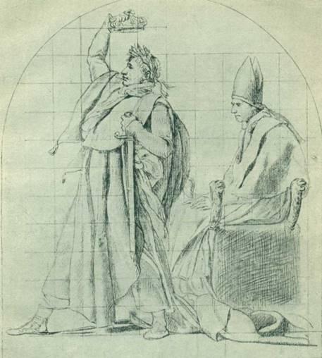 Наполеон и Пий VII