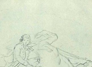 Дампьер раненный под Валансьеном