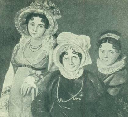 Три гентские дамы