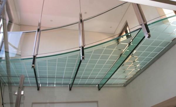 Использование стекла в дизайне