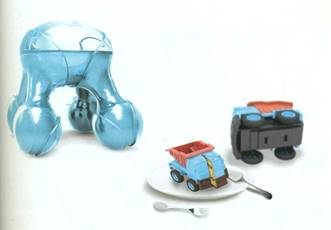 Кулинарный 3D-принтер Atomium Luiza Silva, Бразилия